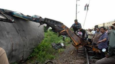 Pakistan responsible for four train accidents: reports