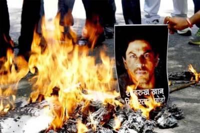 BJP promulgates King Khan 'traitor'