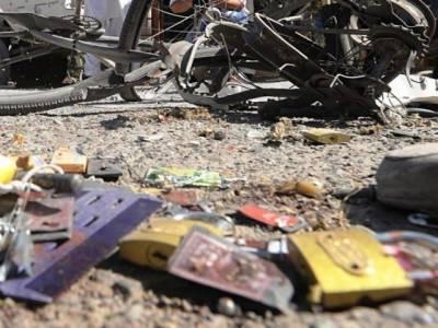 5 security personnel injured in roadside blast