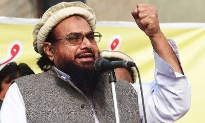Hafiz Saeed, 37 others name put on Exit Control List