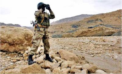 Terrorist killed in operation at Kulachi:ISPR