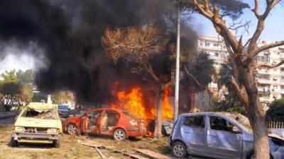 Bomb blast hits outside Bahraini capital, deaths feared