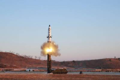 Pentagon strongly denounces North Korean missile test