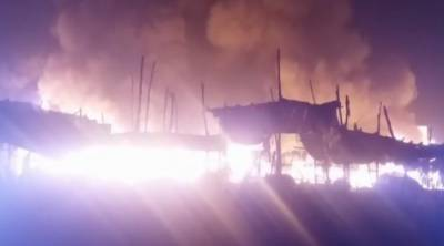 Blaze in Sadiqabad market, 400 shops turned to ashes