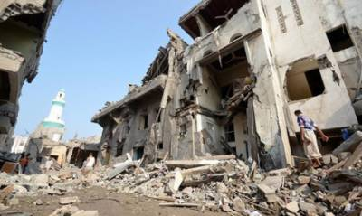 Eight women, one child killed as airstrikes hit mourners in Yemen