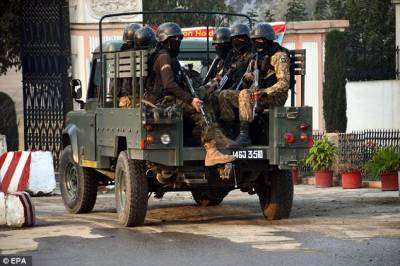 32 terrorists killed in encounter with security forces