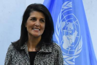 Trump supports two-state solution: US ambassador at UN
