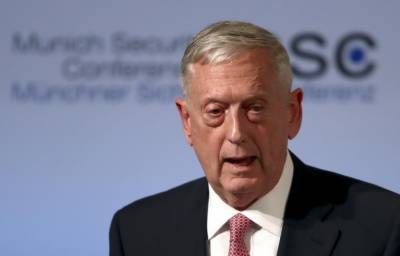 Trump's defense chief in Iraq says: We're not here for your oil