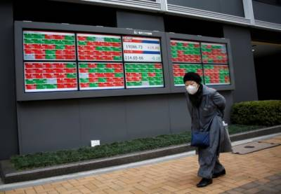 Asia stocks pare losses, dollar flounders