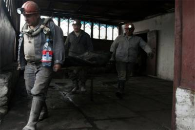 Deadly explosion rips through Ukraine coal mine