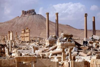 ISIS damaged major Palmyra monument: Experts