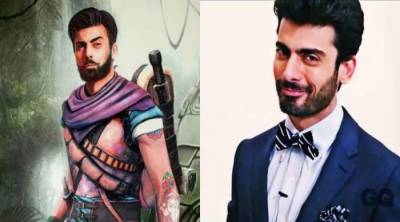 Fawad Khan stars in Temple Run...!