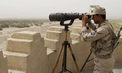 Iranian forces fired 9 mortar rounds into Pakistani territory