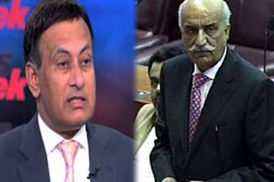 Khursheed Shah terms Husain Haqqani as 'traitor'