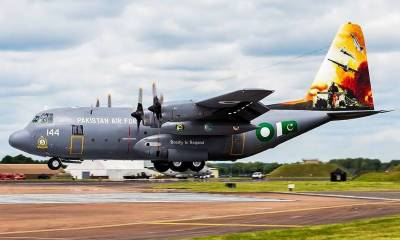 PAF achievement: Engineers complete overhaul of 50th C-130