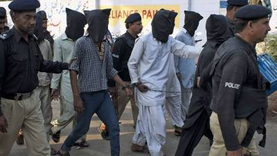 Radd-ul-Fasaad: 33 apprehended including 3 Afghans