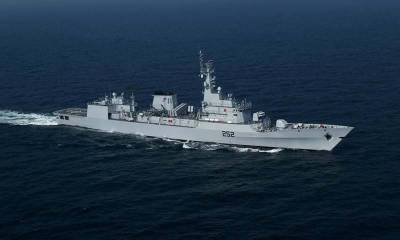 Pakistan Navy war ships visit Colombo port