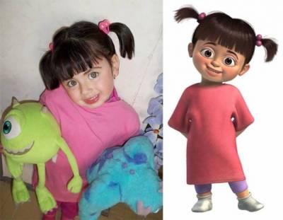 People look exactly like 'Cartoon Characters'