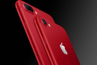 Apple launches elegant iPhone in stunning red