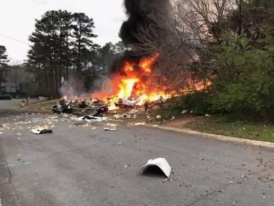 1 dead in Georgia plane crash