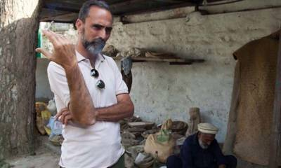 Italian Archaeologist Olivier is in love with Pakistan after rewarded with Sitara-e-Imtiaz