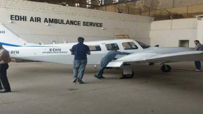 Edhi Air Ambulance Service to resume soon