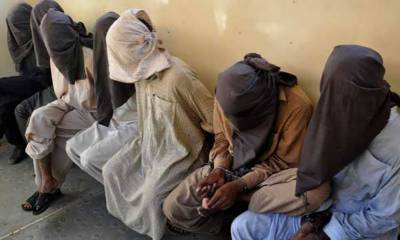 10 suspected Afghan nationals arrested in countrywide operation