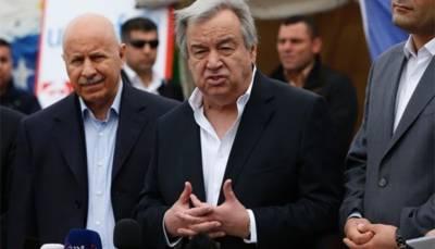 U.N. Secretary General urges more aid for people of Mosul