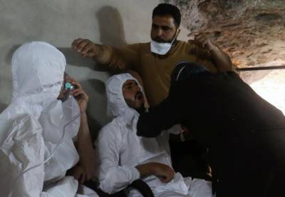 Gas attack in Syria kills 58 people including 11 children