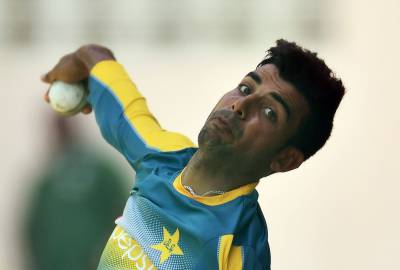 Spinner Shadab Khan makes history in T20 International
