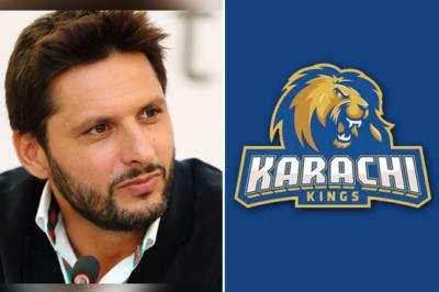 Shahid Afridi joins Karachi Kings