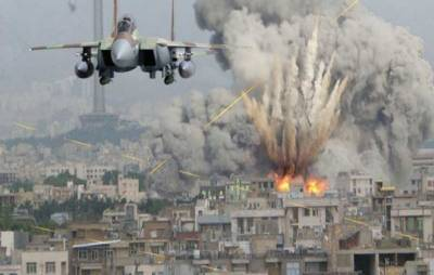 US air strike kills 18 in Syria