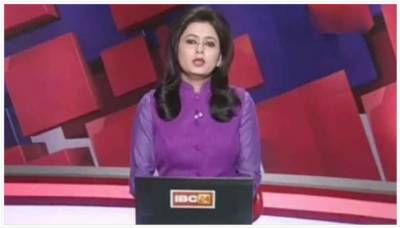 Watch: Daring anchor reads breaking news of husband's death