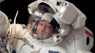 Space station command handed over to NASA's Peggy Whitson
