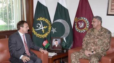 COAS Bajwa meets Afghan ambassador, discusses bilateral relations