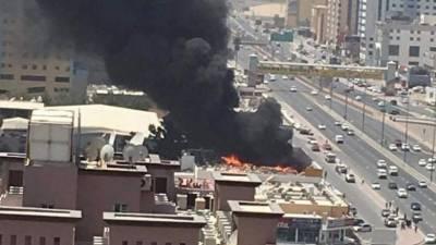 Massive blaze erupts in Ajman's shopping center