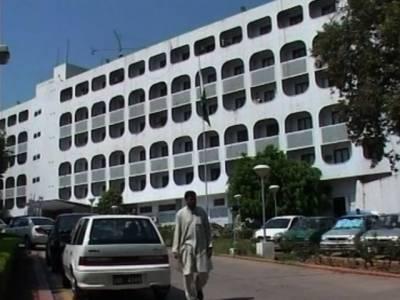 Pakistan FO summons Indian HC over Kulbushan issue