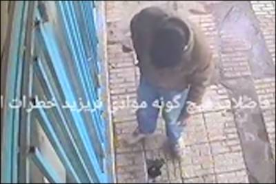 Watch: Sewer explodes in man's face as he threw lit cigarette
