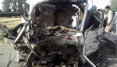 5 killed, dozens injured in Bhakkar road accident