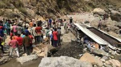 44 killed in bus crash in northern India