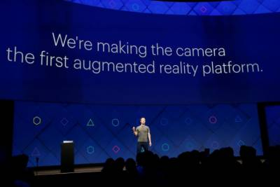 Facebook pushes augmented reality