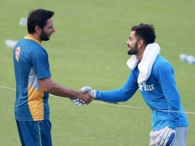 Indian team sends heart-warming farewell gift to Shahid Afridi