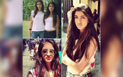 Amitabh's granddaughter Navya's pictures go viral on social media