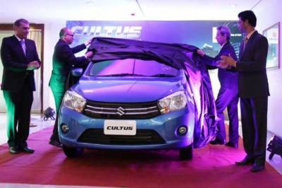 Pak Suzuki launches Celerio to replace Cultus