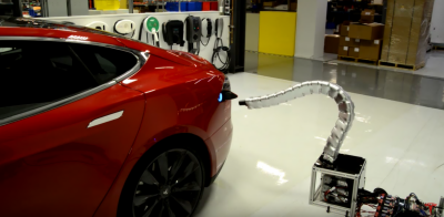 Tesla's to launch Model 3 with automated supercharger in September