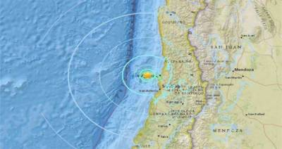 6.9-magnitude earthquake jolts Chile, no major damage reported