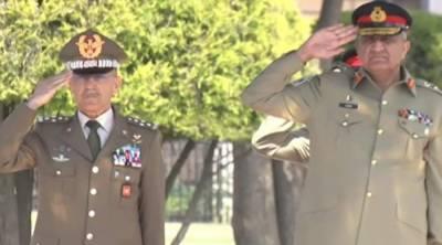 Italian COAS meets Gen Qamar Bajwa