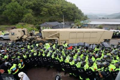 China concerns deployment of U.S. THAAD missile defense system in South Korea