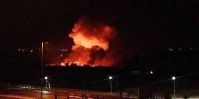 Bomb exploded near Damascus airport