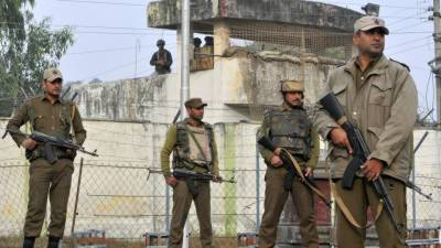 Five including 2 officers killed as Indian army camp attacked in IHK